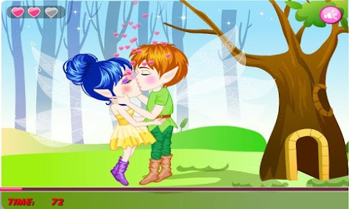 Romantic Spring Kissing 1.0.0 screenshot 1