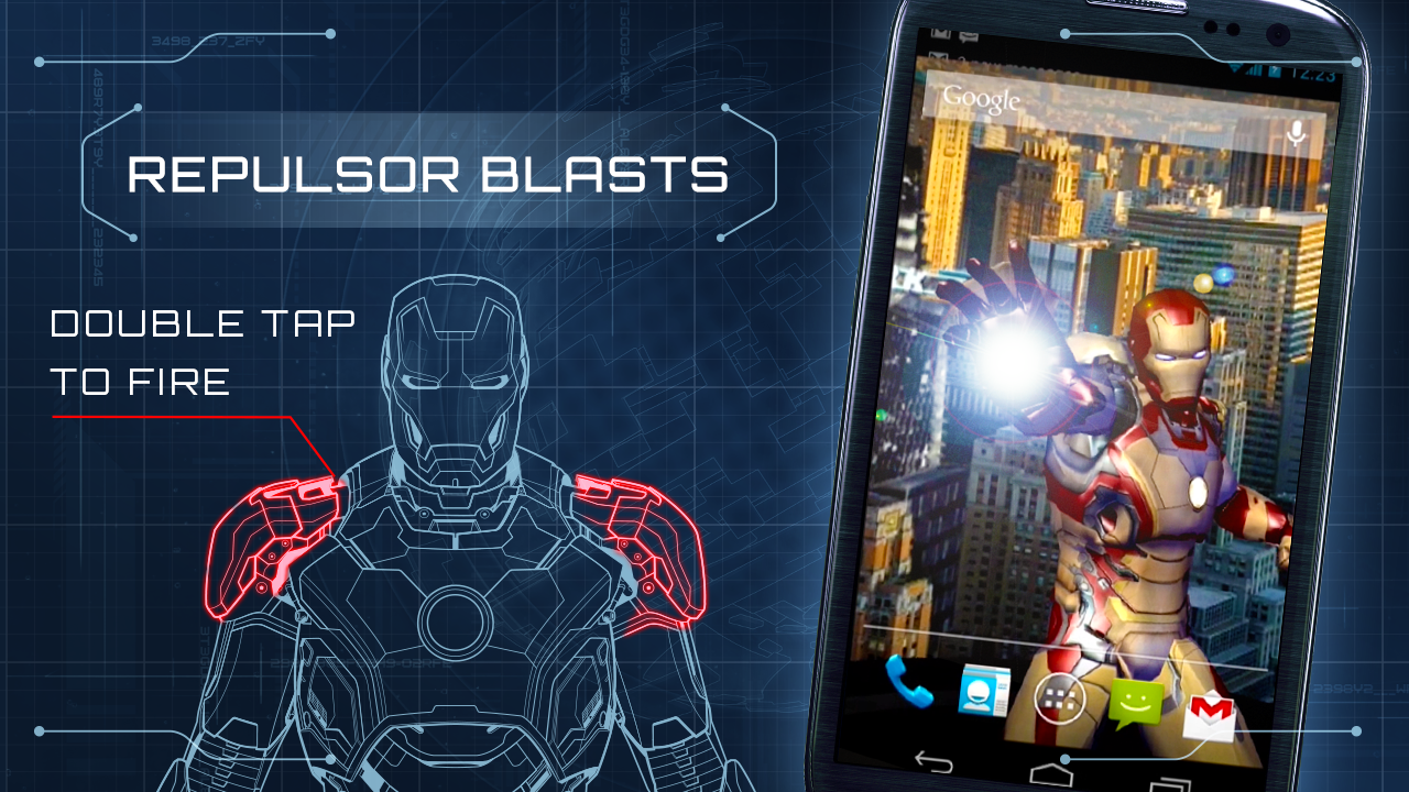 Iron Man 3 Live Wallpaper 1 28 Apk Download Android