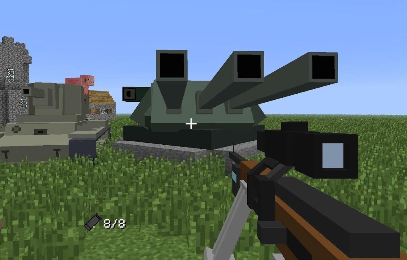 Flans Mod Minecraft Ideas APK Download Android - Minecraft maps fur flans mod