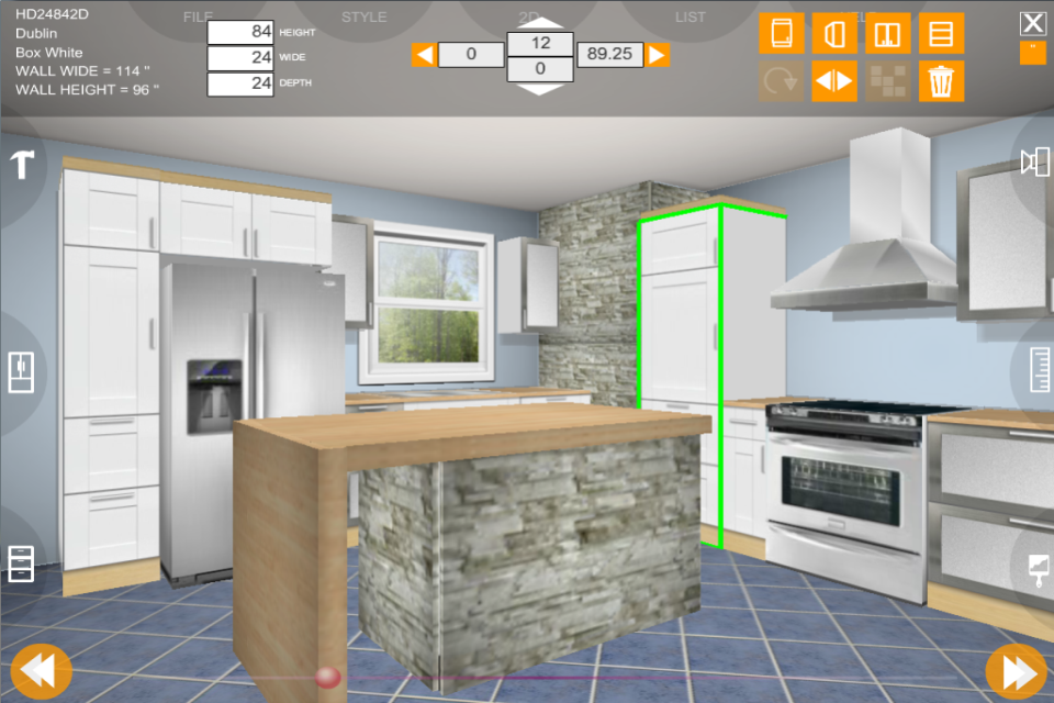 Eurostyle Kitchen 3D Design 2.2.0 APK Download
