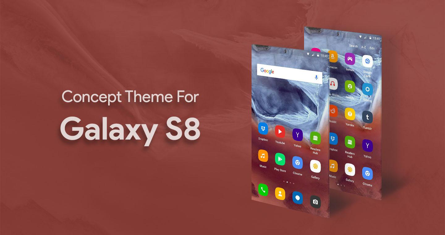 S8 Launcher - Galaxy S8 Theme 1 0 1 APK Download - Android