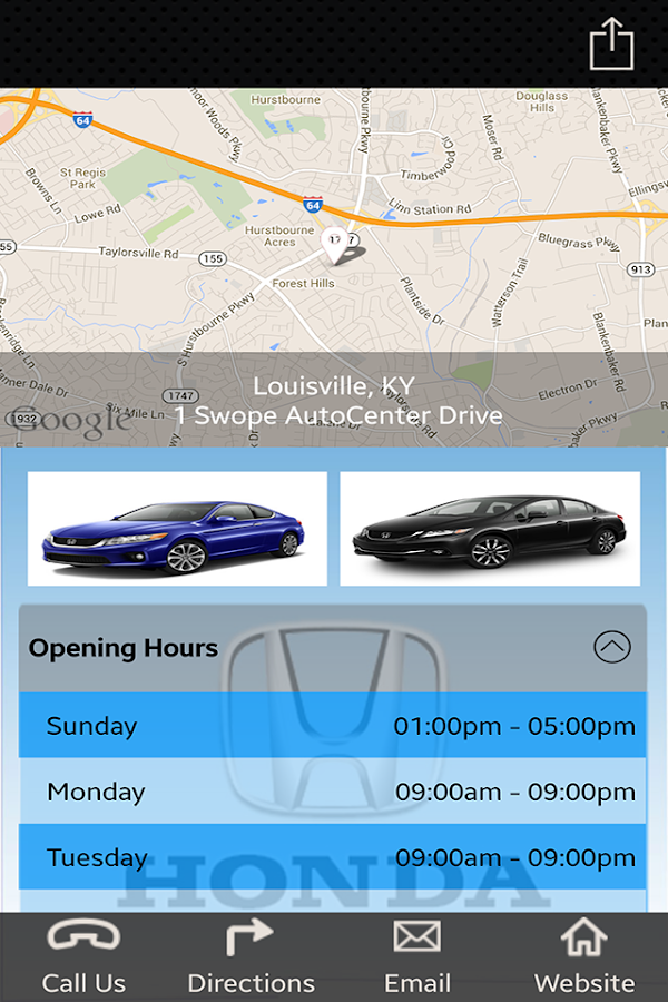 Sam Swope Honda >> Sam Swope Honda World 4.1.2 APK Download - Android Transportation ألعاب