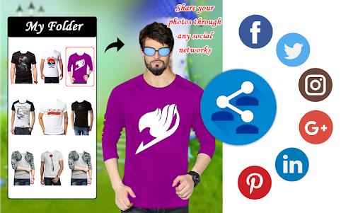 Men Shirt With Tie Photo Suit Maker 1.0.9 screenshot 16