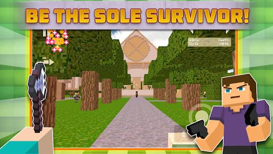 Cube Gun Survival Games C10.1 screenshot 1