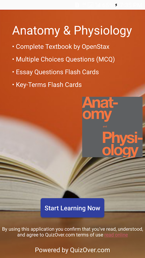Anatomy & Physiology Textbook , MCQ & Test Bank 2.1.1 APK Download ...