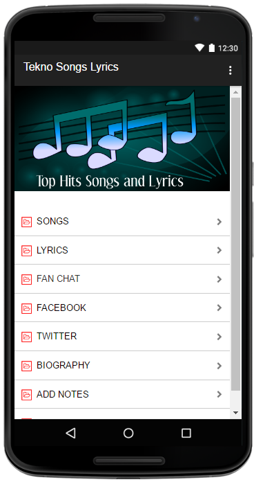 Tekno Songs Lyrics 1 0 APK Download - Android Entertainment Apps