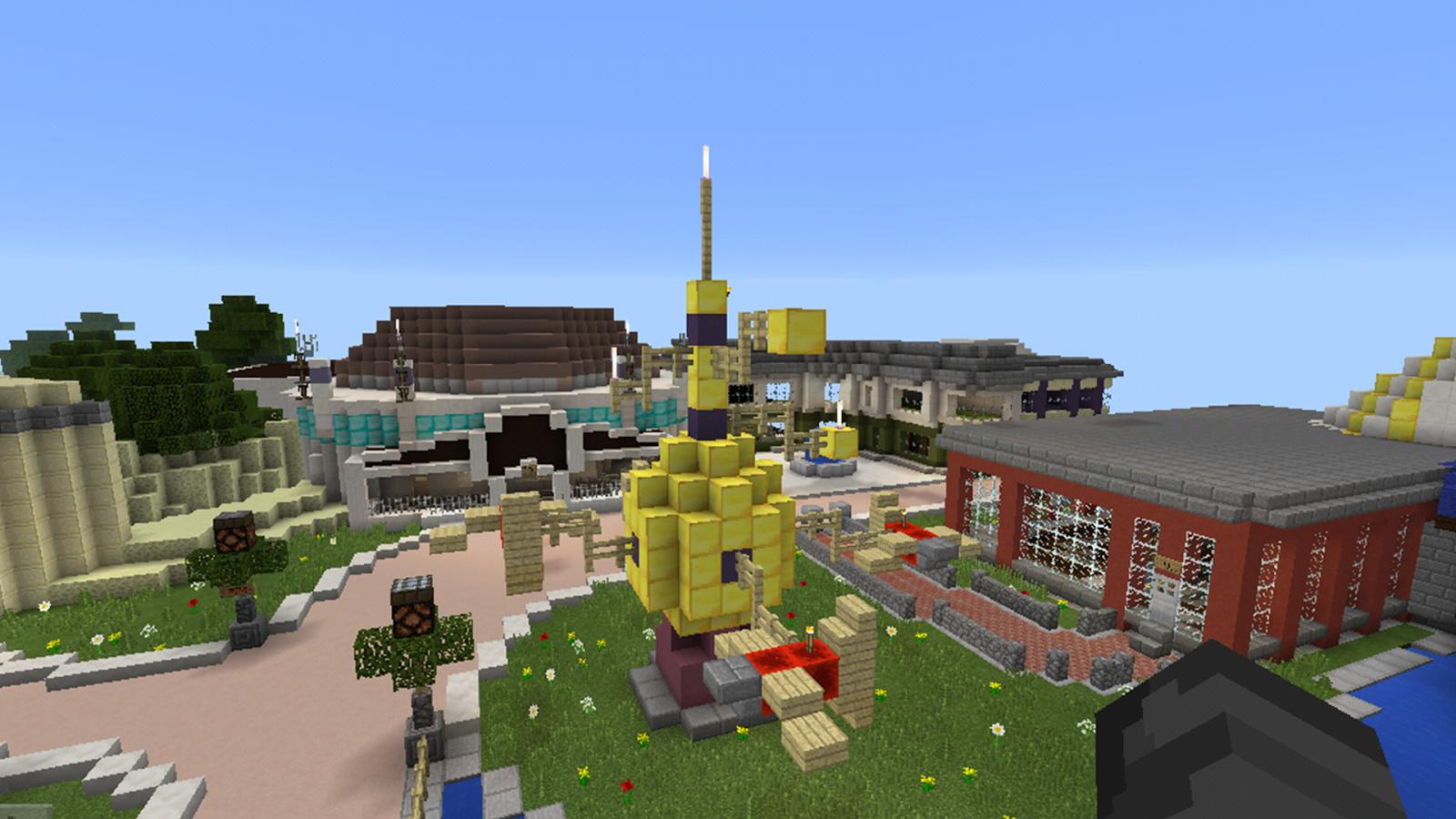 Map DisneyLand For Minecraft PE APK Download Android Tools Apps - Disneyland map fur minecraft pe