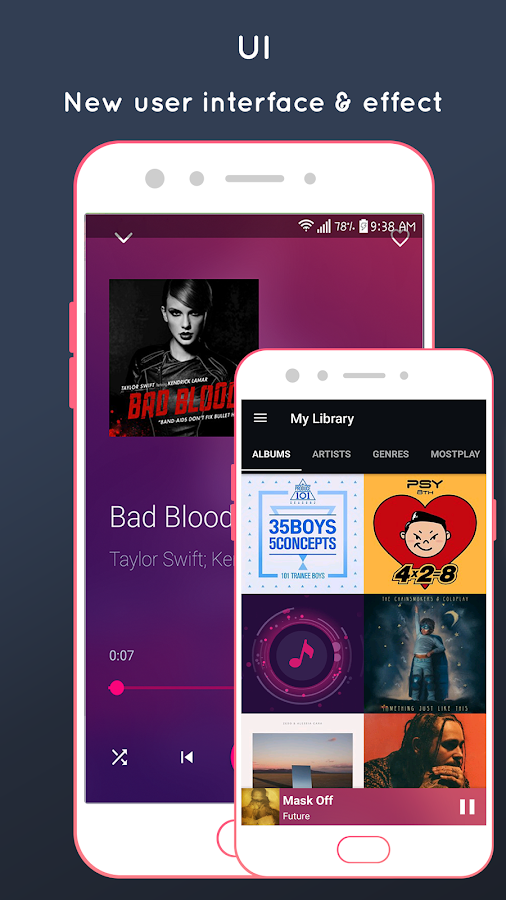 IMusic for IOS 11 , IPhone X Music player 2 2 2 APK Download
