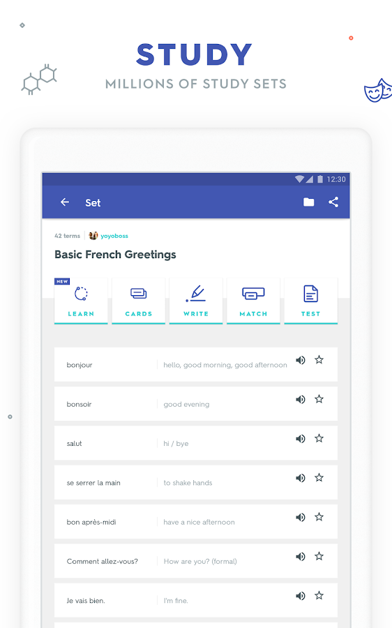 Quizlet learn languages vocab with flashcards apk download quizlet learn languages vocab with flashcards screenshot 10 publicscrutiny Choice Image