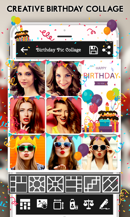 Happy Birthday Cake Status Card Photo Frame 17 Apk Download