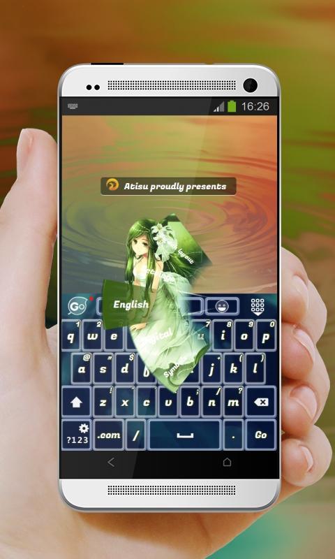 Anime Run GO Keyboard 40 Pumpkin Screenshot 9