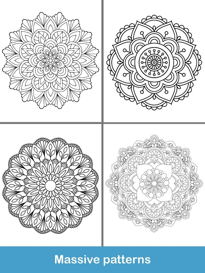 100 Mandala Coloring Pages 150 Screenshot 20