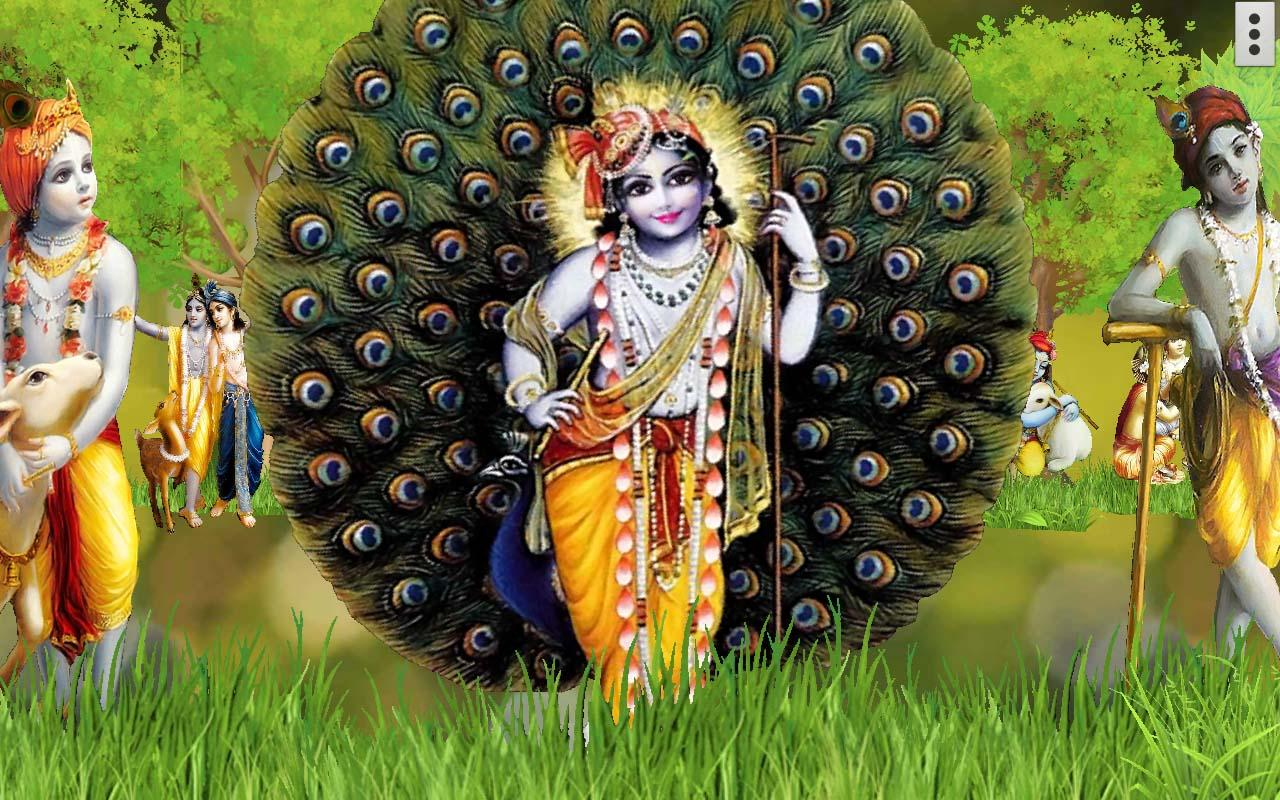 4d Krishna Live Wallpaper 91 Apk Download Android Personalization