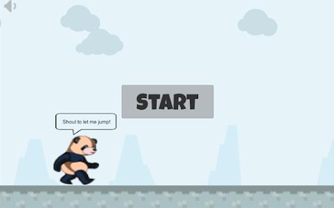 Shout And Jump 1.0 screenshot 1
