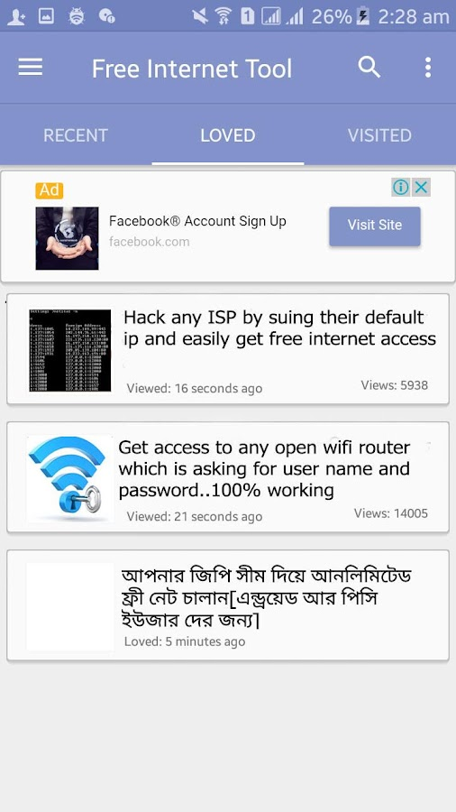 Free Internet Tool 2 2 APK Download - Android Tools Apps