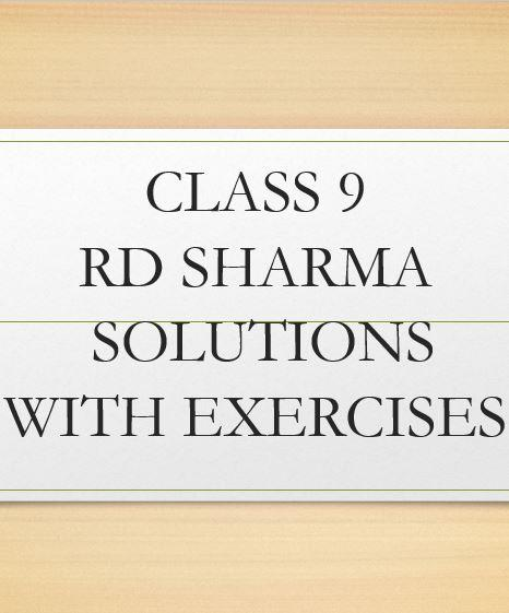 class 9 rd sharma solutions 1 3 apk download android education apps