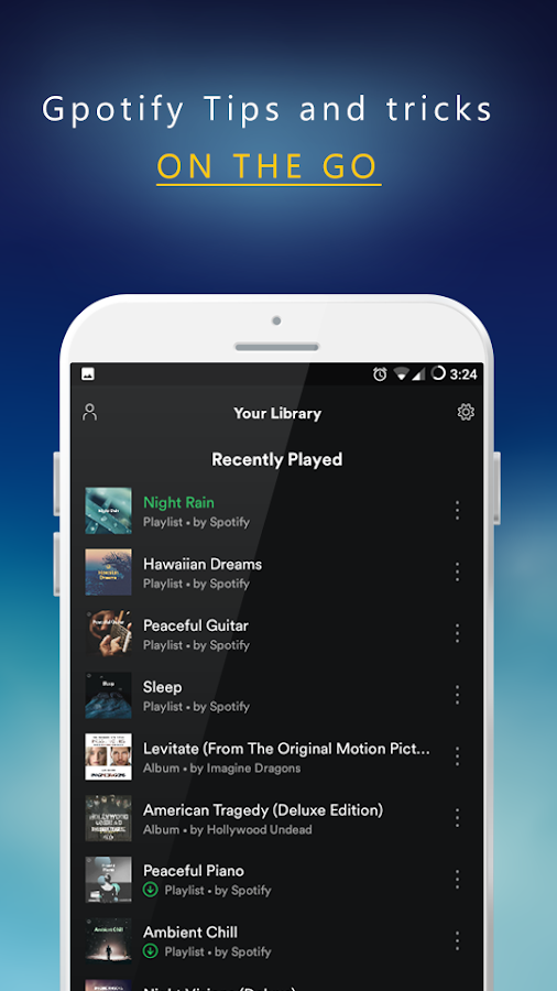 Guide for Spotify Music &Radio 1 0 APK Download - Android