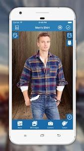 Man Shirt Photo Editor 3.0.9 screenshot 3