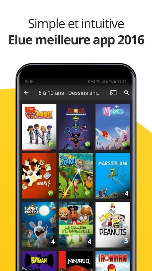 Molotov - TV en direct et en replay 3.1.6 APK Download - Android ...
