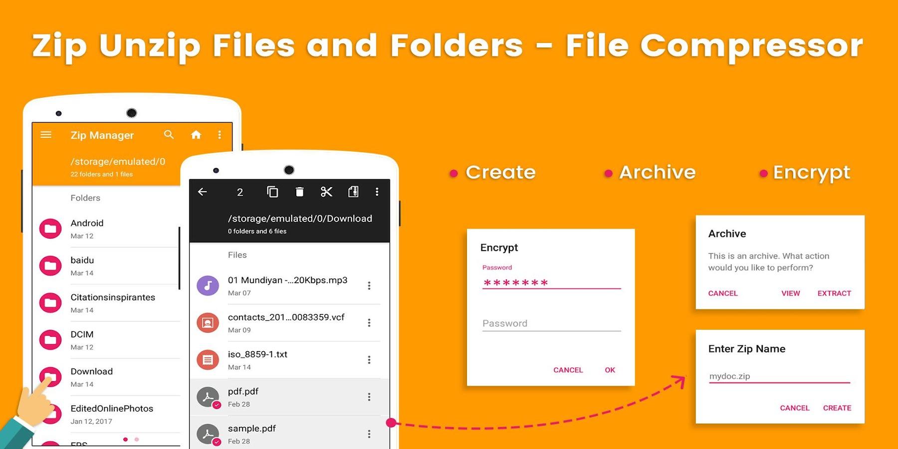 folder unzipper free download