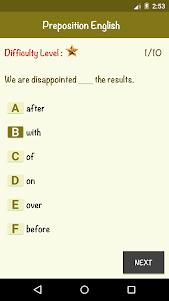 English Preposition 1.0 screenshot 5