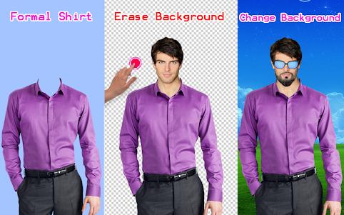 Men Shirt With Tie Photo Suit Maker 1.0.9 screenshot 19