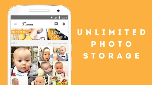 Famm - photo & video storage for baby and kids. 3.10.0 screenshot 10