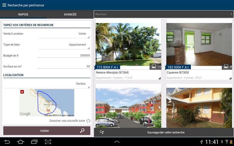 application mobile de gestion immobiliere