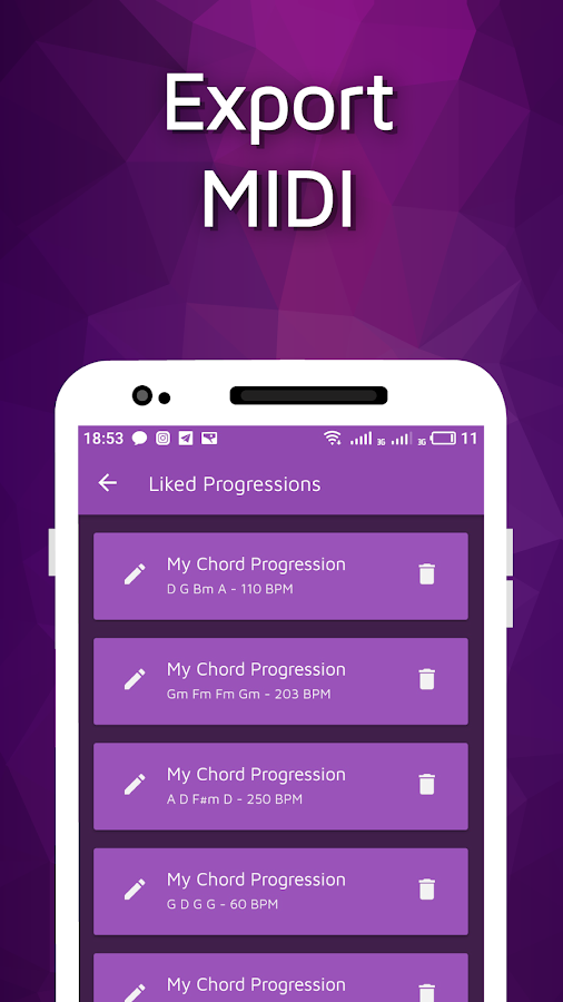 Chord Progression Generator 1.2.0 APK Download - Android Music ...