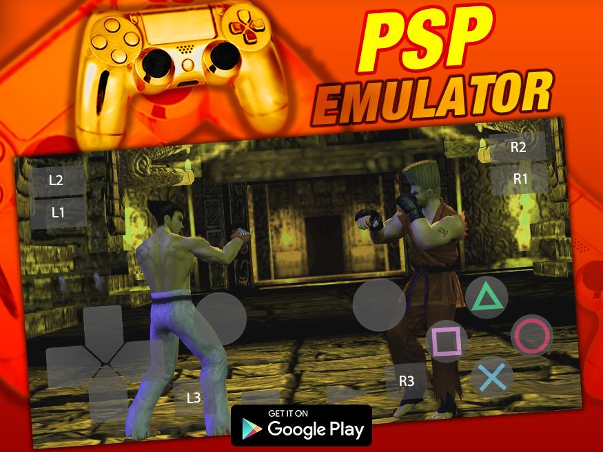 Free HD PSP Emulator - Android Emulator For PSP 7600111XX APK