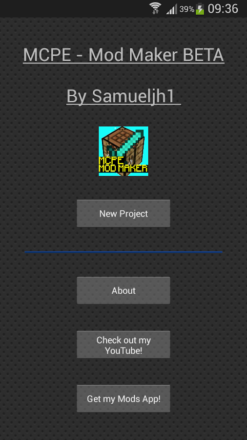 Mcpe mod maker beta 420 apk download android tools apps mcpe mod maker beta 420 screenshot 1 stopboris Gallery