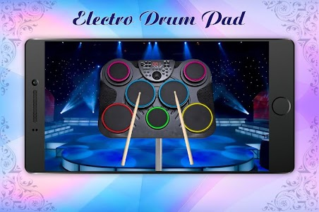 Electro Music Drum Pads: Real Drums Music Game 1.2 screenshot 1