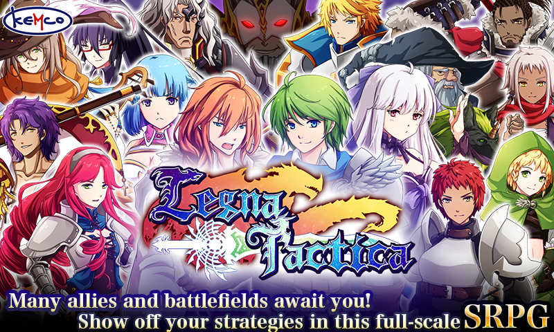 SRPG Legna Tactica 1 1 3g APK Download - Android Strategy Games