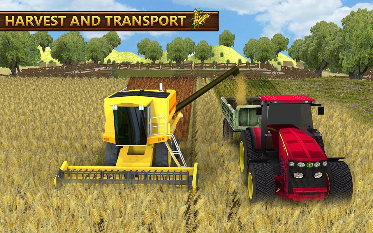 Real Tractor Farm Simulator 17 - Transport Truck 1 4 APK