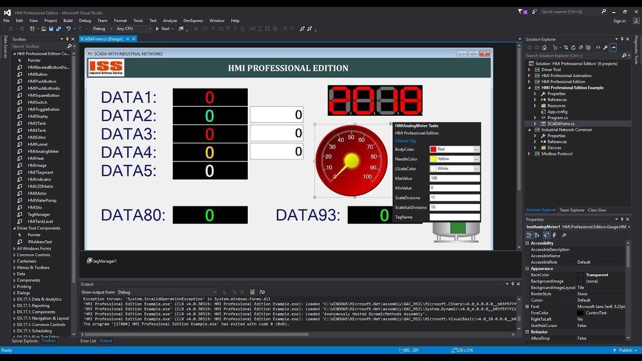Programming Modbus RTU/TCP And HMI With Visual C# 1 0 APK