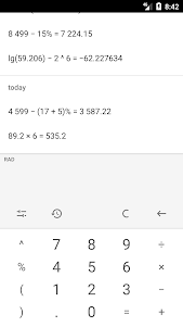 Calculator (no ads) 2018.9.25 screenshot 5