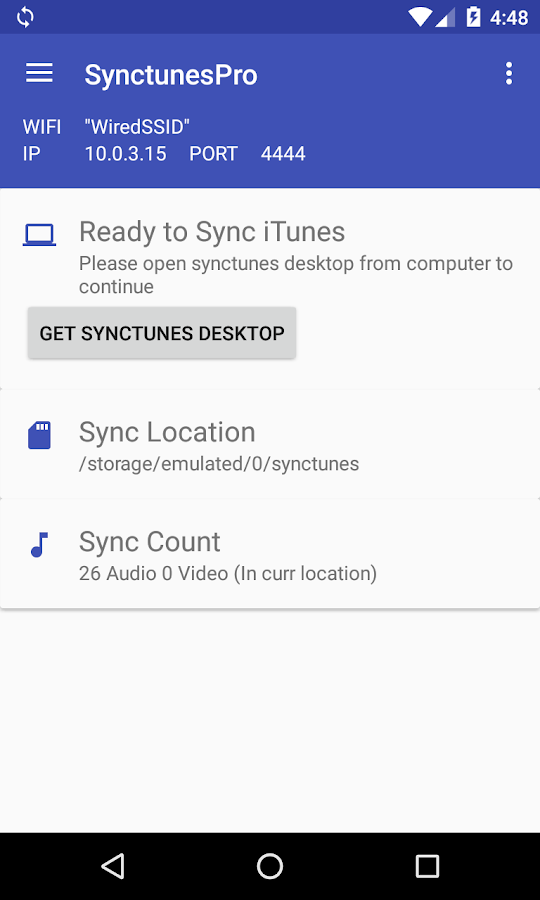 Sync iTunes to android - Pro 2 4 APK Download - Android Music