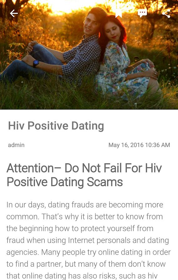 Internet Dating hiv