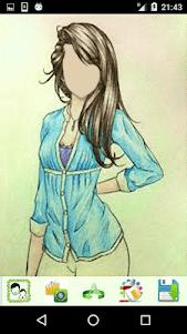 Girls Cartoon Look 1.4 screenshot 5