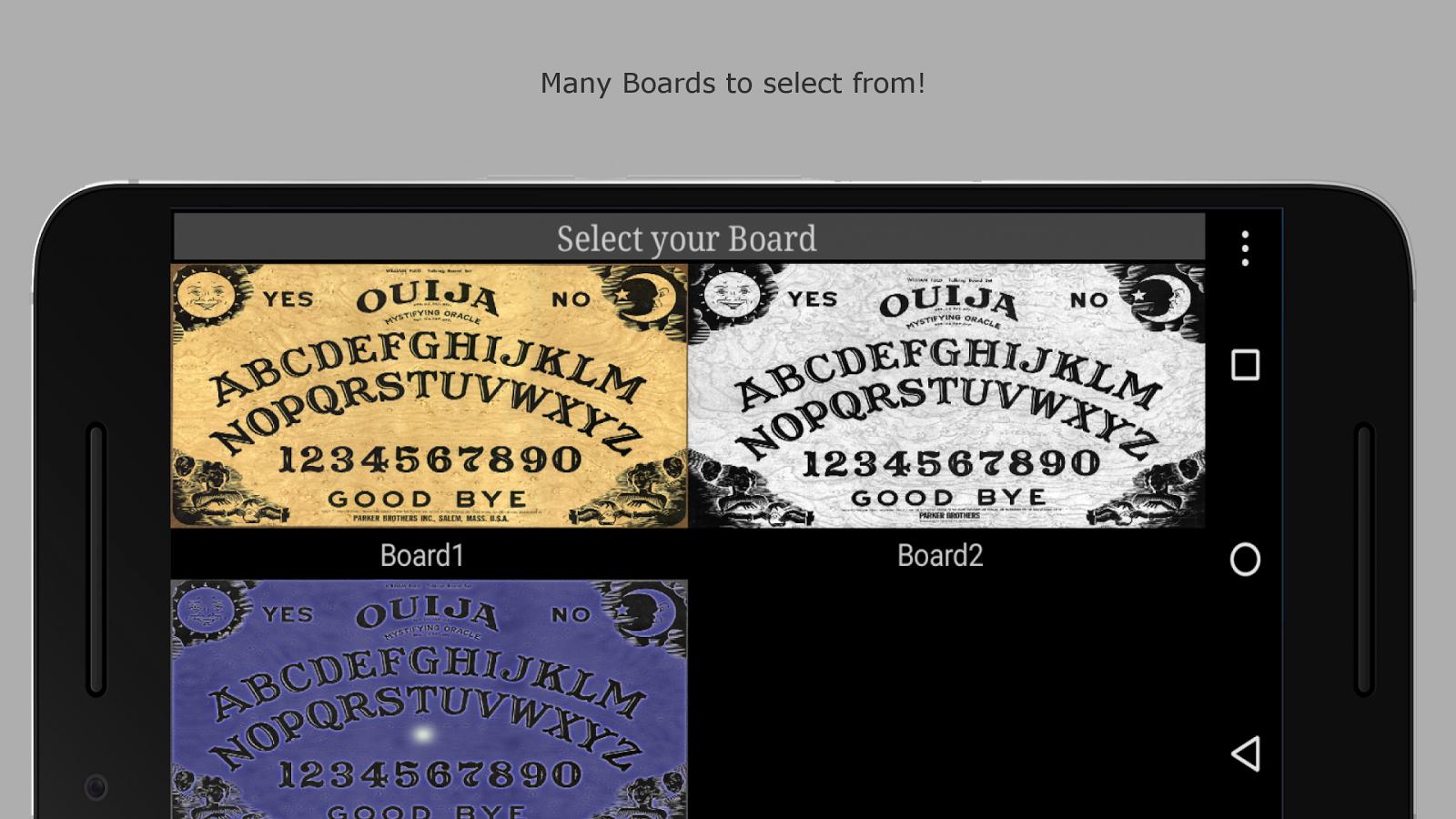 Ouija board pro 61 apk download android board games ouija board pro 61 screenshot 4 buycottarizona Gallery