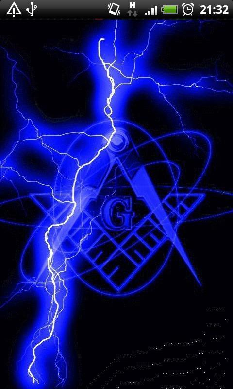 Blue Lightning Freemason Live Wallpaper Theme Lwp 6601 Apk