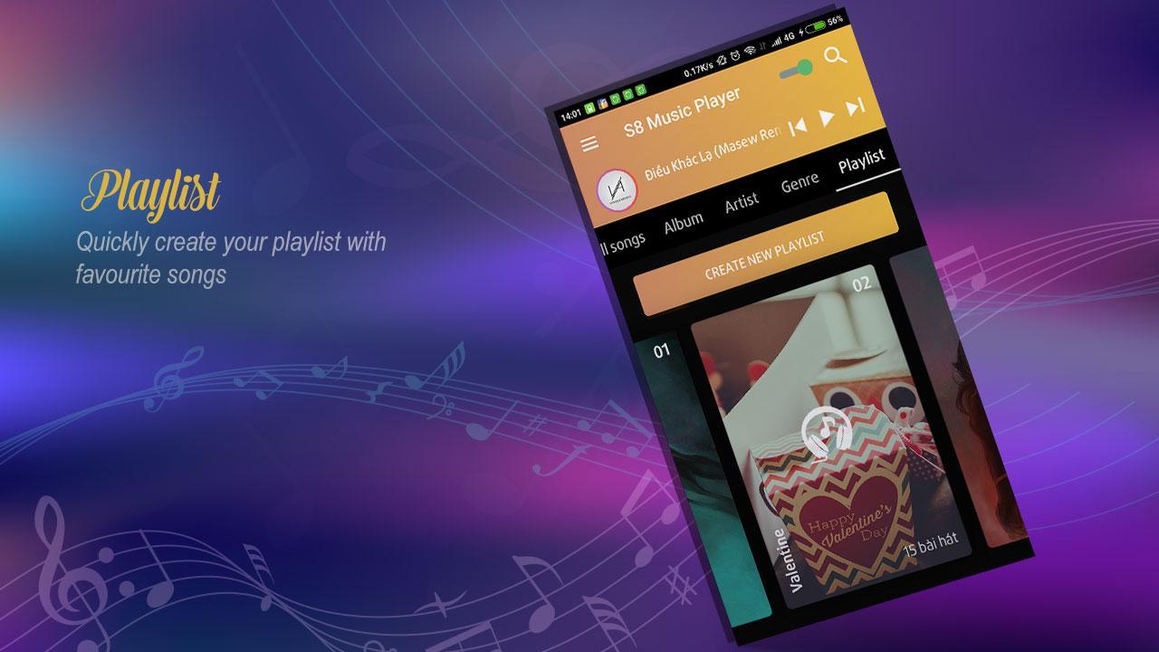 galaxy s8 music player