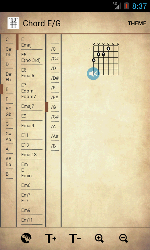 Guitar Chords Free 1.07 APK Download - Android Music & Audio Apps