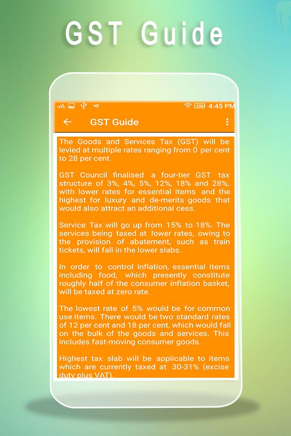 Gst rate finder calculator hsn code guide 11 apk download calculator hsn code guide 11 screenshot 4 stopboris Gallery