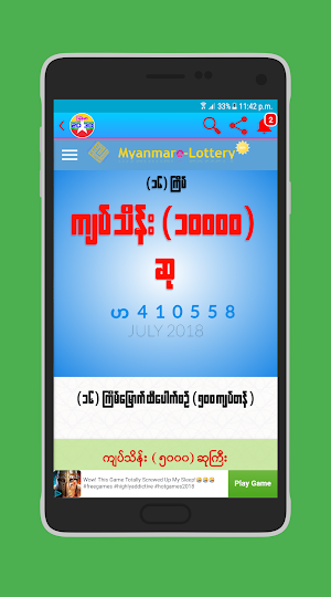 Burma Lottery Result Today