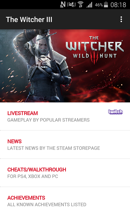 The Witcher 3 App 1 3 APK Download - Android Entertainment Apps