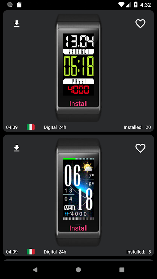 My WatchFace for Amazfit Cor 1 3 4 APK Download - Android Tools Apps