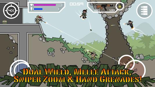 Doodle Army 2 : Mini Militia 5.3.7 screenshot 3
