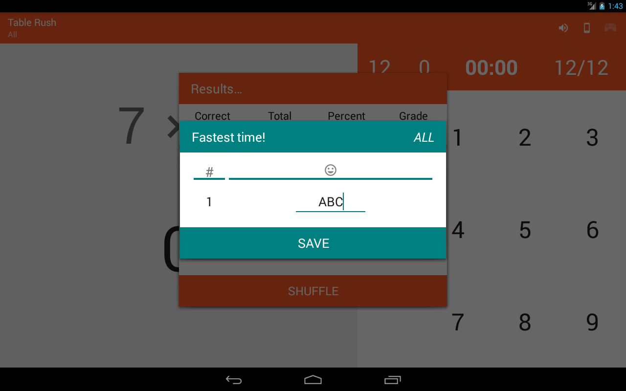 Multiplication Memorizer 1.0.17 APK Download - Android Educational Games