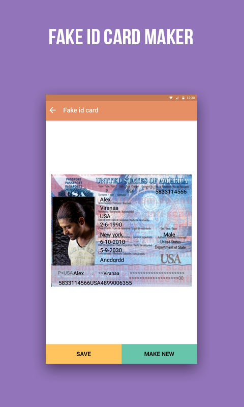 Fake id maker apk